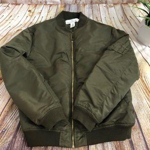 H&M L.O.G.G. Bomber Jacket Men's Size Medium